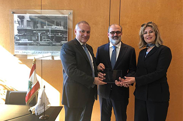 "BLOM BANK Receives ""Excellence in Risk Management"" Award from Visa"